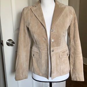 Loft Suede Jacket 100% Leather
